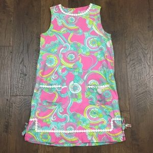 Lilly Pulitzer seashell print shift dress